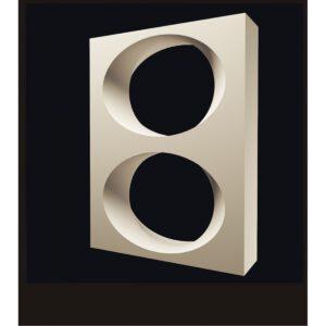 3D Перегородки Омега